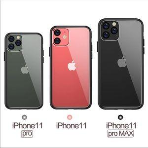iPhone 11 Pro Black Clear Ultra Slim TPU PC Case